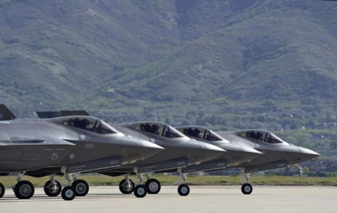 Hill Air Force Base launches record number of F-35s