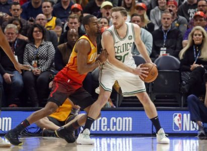 Joe Ingles scores 27 points, Jazz outlast Celtics 123-115