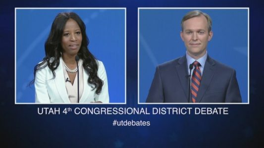 Candidates hit Utah streets in last days of close House race
