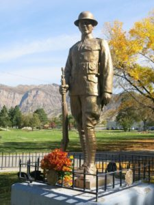 Ogden 'Doughboy' statue restored in time for WWI anniversary