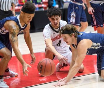 Southern Utah hits 15 3s, routs San Diego Christian 111-64