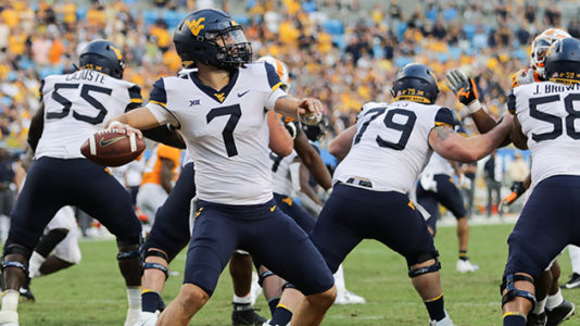 West Virginia quarterback Will Grier to skip bowl game, prepare for NFL Draft