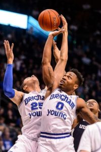 Childs scores 31, Emery returns and BYU wins 95-80