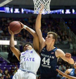 Harding scores 30, Weber State beats BYU 113-103