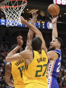 Redick scores 24, Embiid has 23, 76ers roll over Jazz 114-97