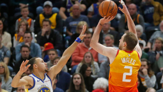 Ingles, Gobert help Jazz edge Warriors 108-103