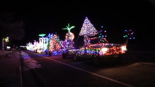 Utah man drives mobile Christmas light display in Escalante - Utah Man Drives Mobile Christmas Light Display In Escalante €� Heber