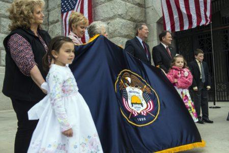 Lawmaker seeks redesign of 'SOB' Utah state flag