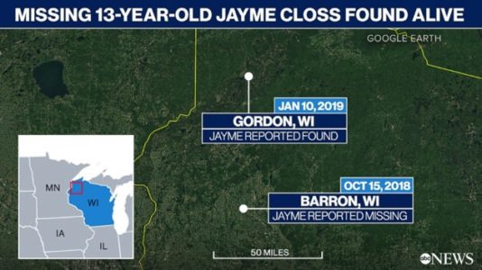 21-year-old charged with kidnapping of missing 13-year-old Jayme Closs, murdering her parents