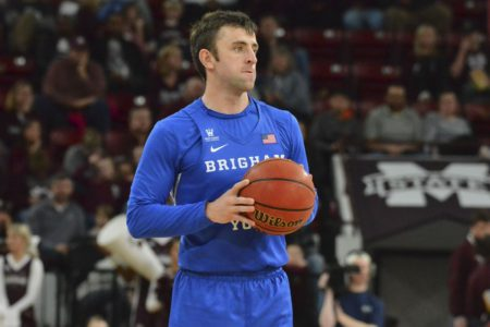 Haws, BYU blow 21-point lead before beating Pacific 90-87