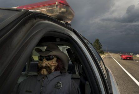 Wayne County retires well-known highway patrol mannequin
