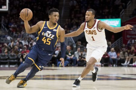 Mitchell, Jazz send Cavs to 8th straight loss, win 117-91