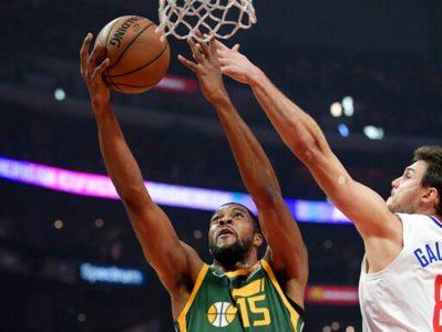 Jazz beat Clips 129-109 for 1st 5-game win streak of season