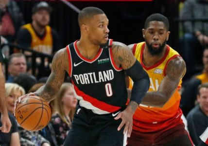 Lillard, Nurkic's big 3rd send Blazers past Jazz, 109-104