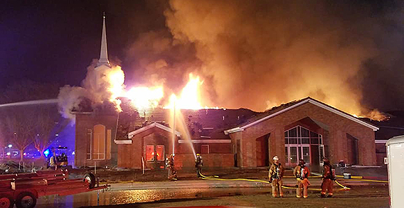 Authorities: St. George stake center fire intentionally set