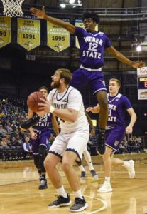 Weber State continues domination of Montana State, 93-84