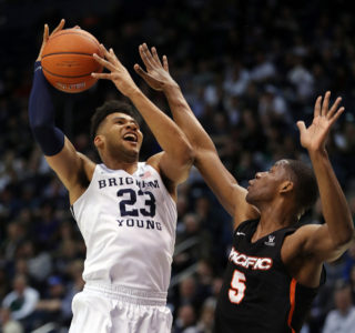 Childs leads BYU over Pacific 69-59
