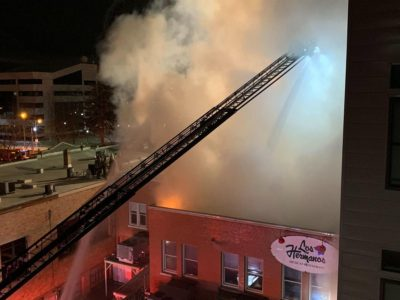 Downtown Provo restaurant likely total loss after fire