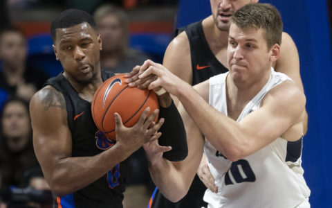 Merrill lifts Utah St. over Boise St. 78-71 in OT