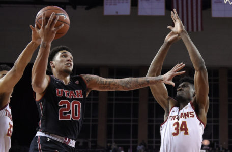 Utah holds on for 77-70 win over USC