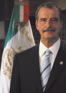 Ex-Mexico President Vicente Fox: 'Walls divide'