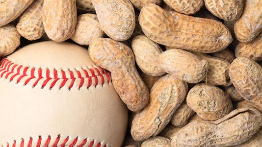 Minor league baseball team becomes first to ban peanuts