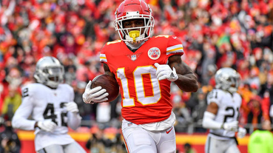 Chiefs Hill under investigation for battery