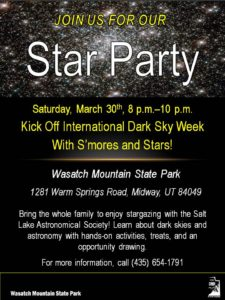 Wasatch Star Party