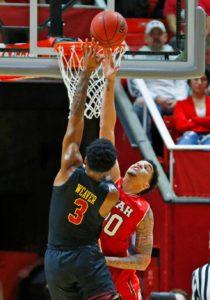 Van Dyke Hits 6 3s and scores 20 to lift Utah over USC