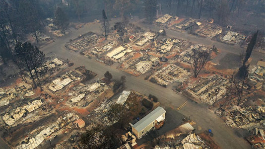 Students who lost nearly everything in California's Camp Fire